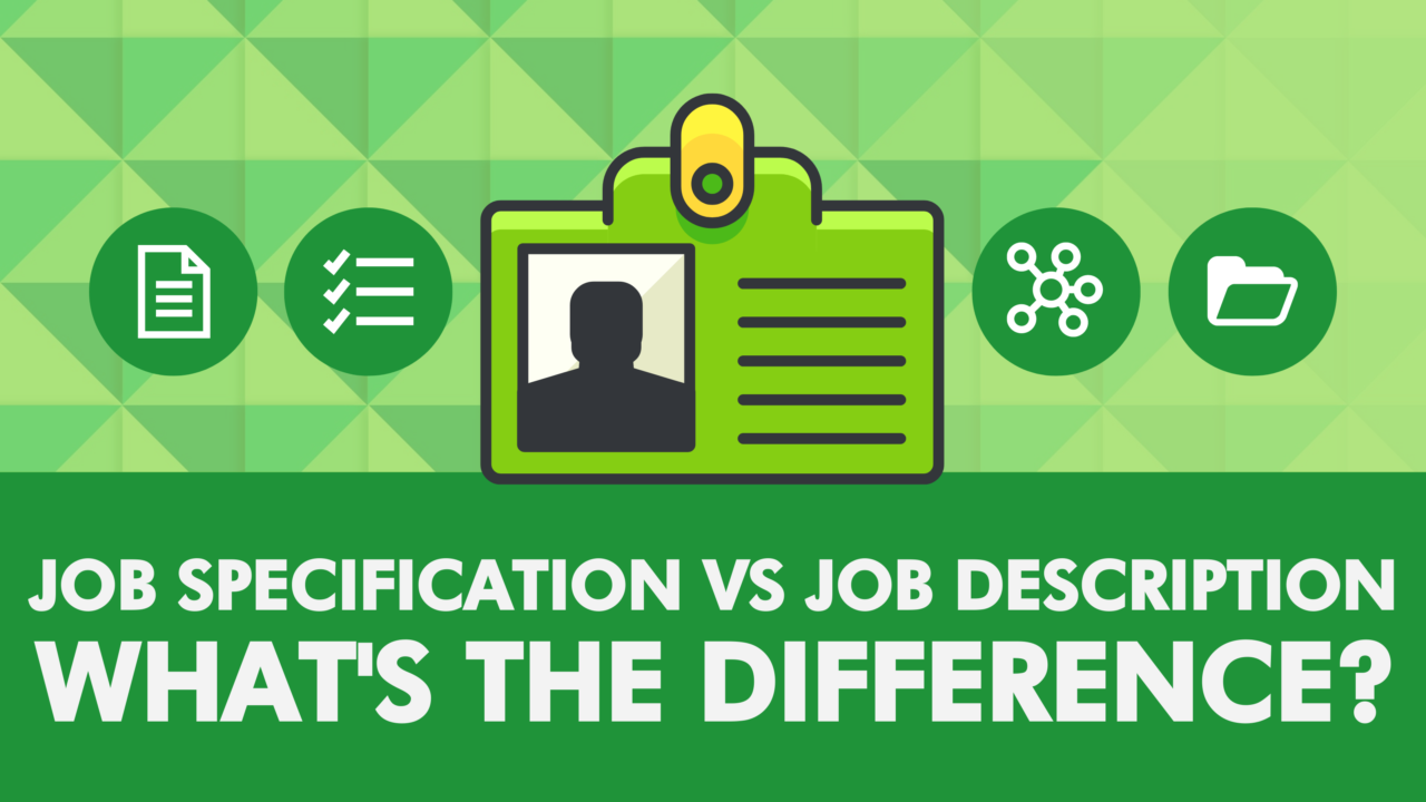 Job Specification vs Job Description