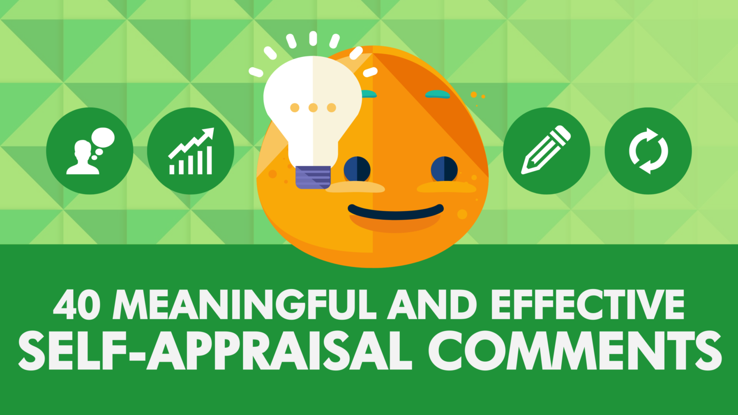 Self-Appraisal Comments