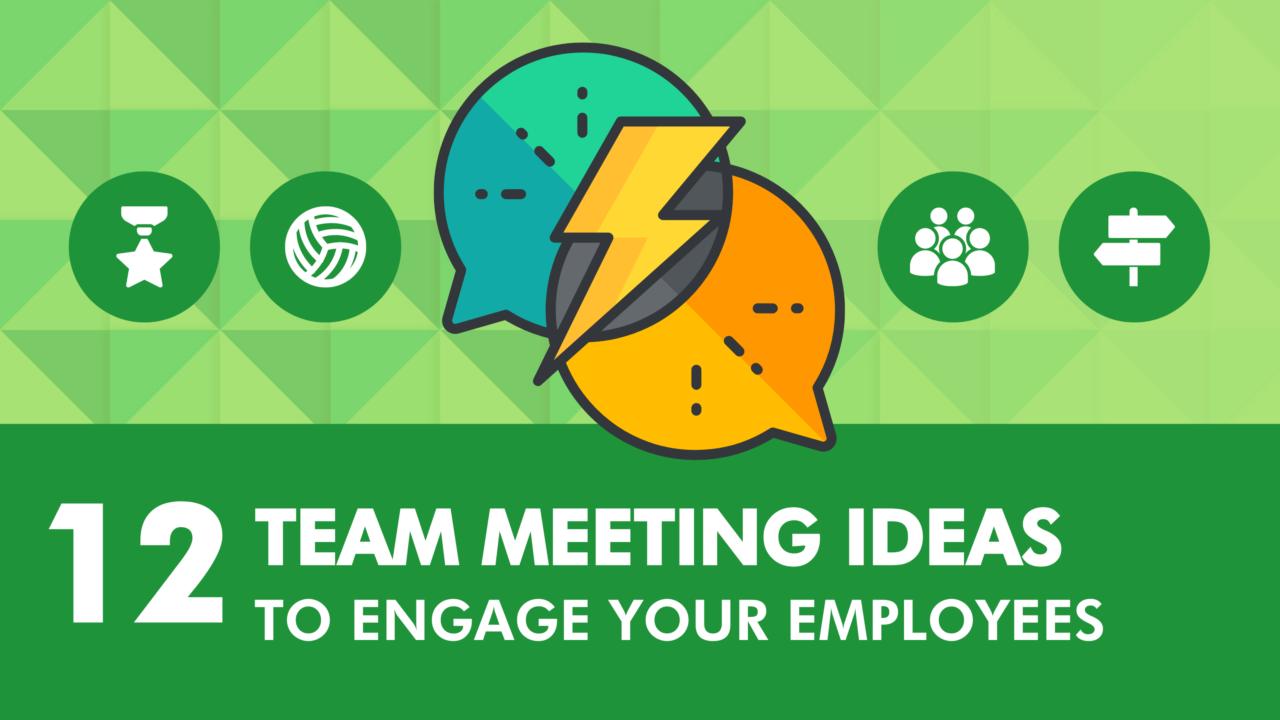 Team Meeting Ideas